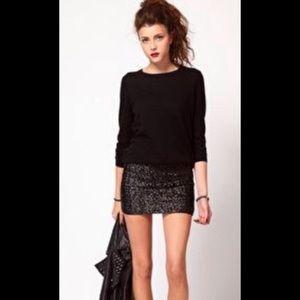 BCBG sequin skirt size 0